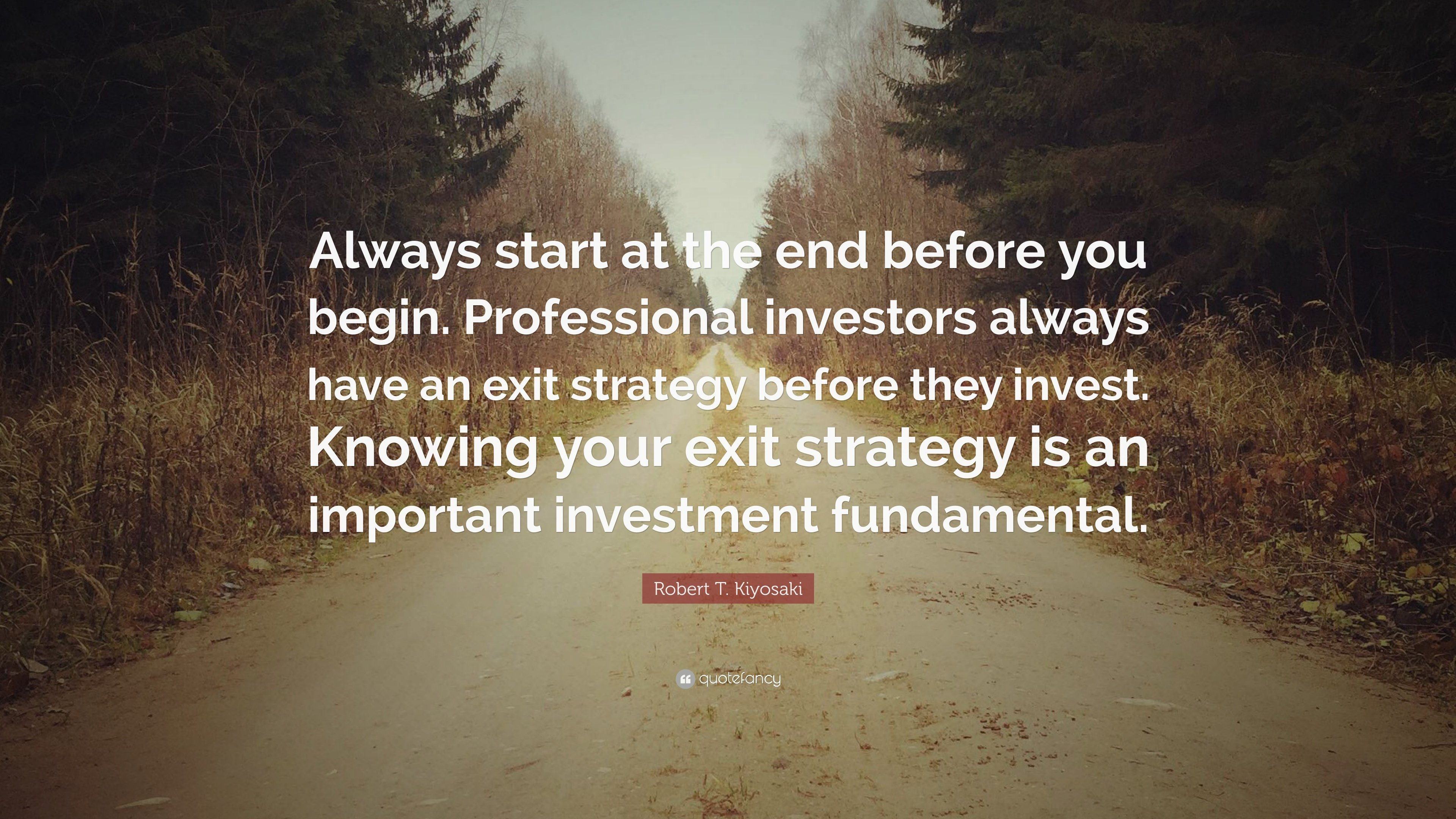 Image result for start from end investment